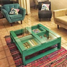 And I am simply loving this pallet wood made coffee table. It has got a unique…