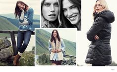 Cato Van Ee & Crista Cober Wear Colorful Fall Looks for H&M