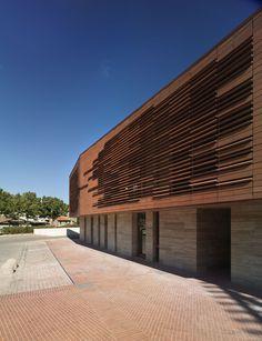 Greve in chianti library in Chianti by mdu architetti