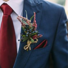 Autumn in a Buttonhole