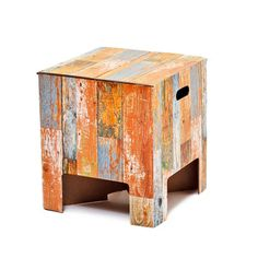 Dutch Design Chair Scrap wood now featured on Fab.