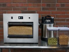 Automated beer-brewing machine