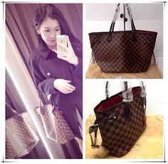 I have found the holy grail of discount purses online!!!! Neverfull Purse just $232.99 now .Holy Hannah!!! #Neverfull #Louis #Vuitton #Handbags