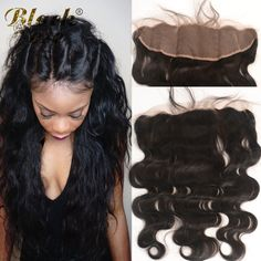 7A Full Lace Frontal Closure Free Part Cheap Hair Malaysian Body Wave13x4 Ear to Ear Lace Frontals Bleached Knots with Baby Hair