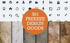 381 killer free web design resources #GraphicDesign #Freebies