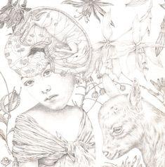 Silverpoint Drawings — Lori Field