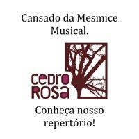 Cansado de mesmice na música? Conheça repertorio de autores da Cedro Rosa. por Cedro Rosa (Play Editora) na SoundCloud