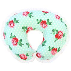 Lucy's Mint Rose Nursing Pillow Cover