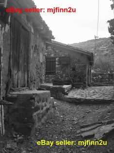 Beautiful black and white picture of old buildings from old village in Cyprus. This would look beautiful in canvas etc. You can use this picture freely in your own art! Picture size: 2448 x