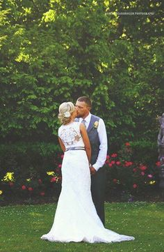 #ashleyscarbroughphotography #photography #knoxville #tennessee #wedding #summer #bride #groom #kiss