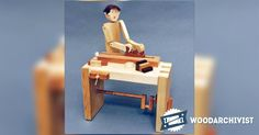 Woodworker - Automata Toy Plans - Children's Wooden Toy Plans and Projects | WoodArchivist.com
