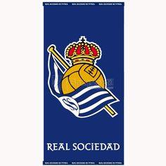 TOALLA DE PLAYA REAL SOCIEDAD