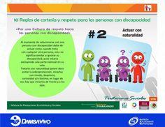 2da. Regla de Cortesía y Respeto para las personas con discapacidad.