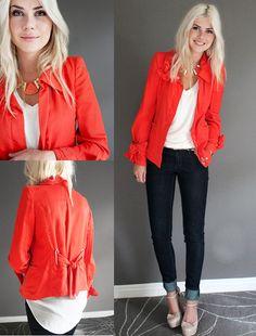 Orange you glad... (by Kellen Hofer) http://lookbook.nu/look/3738189-Orange-you-glad