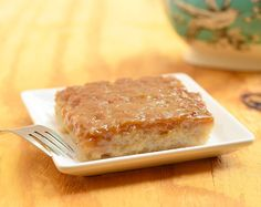 Bibingkang Malagkit- a traditional sweet Filipino rice cake often eaten as dessert or a snack this sticky rice is cooked with sweetened coconut milk before being topped with a brown sugar mixture and left to caramelize in the oven