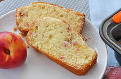 Plumcake alle pesche e olio d'oliva | The Spicy Note