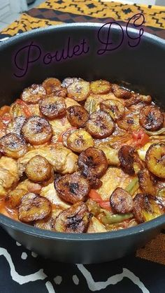 Poulet DG (Cameroun) - The Best Authentic Mexican Recipes Healthy Breakfast Potatoes, Quick Healthy Breakfast, Diner Recipes, Best Dinner Recipes, Mexican Recipes, Cake Recipes, Frango Chicken, West African Food, Healthy Family Dinners