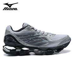 Universe of goods - Buy Original Mizuno Wave Prophecy 6 Professional sport  Shoes Men Grey Black Stable Sports Weight lifting Shoes Size for only USD. 5314ed893dfc