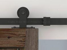 Dimon personnalisés coulissantes quincaillerie de porte avec amortisseur kits Amérique style porte coulissante matériel DM-SDU 7202 avec fermeture en douceur