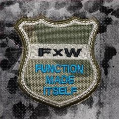 FXW Function made itself Iron on Applique Embroidered Iron-On Patch sew on patch meet you on www.Fleckenworld.com