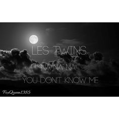 Photo Cover to Les Twins Video