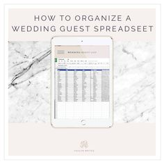 A Preofesional Excel Blank Wedding Guest List  List Templates