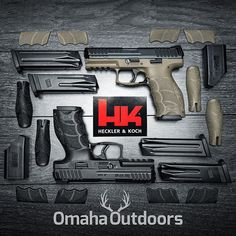 HK VP9 cerakoted in FDE and VP40 pistols in stock! Follow @omahaoutdoors if you haven't done so alr - omahaoutdoors
