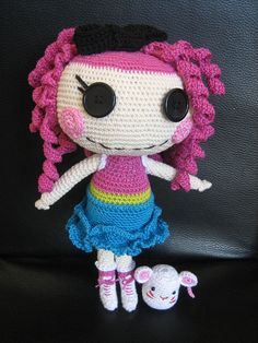 lalaloopsy crochet doll