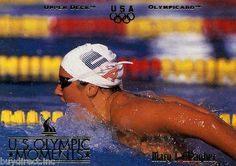 RARE 1996 UPPER DECK OLYMPICARD U.S. OLYMPIC MOMENTS MARY T. MEAGHER USA TEAM