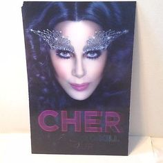 "CHER Dressed to Kill Tour Concert 3D Hologram Display Poster Sign 2014 11"" x 17"""