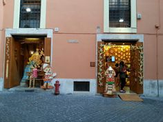 Pinnochio's shop. An amazing collection for young and old.