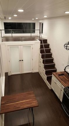 Family of Five's Ventana Tiny House: 32ft x 10ft Alpine Tiny Home with Three 'Bedrooms'!