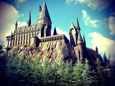 #ridecolorfully Harry Potter Castle Universal Studios Orlando 5