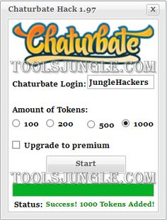 chaturbate cost of tokens