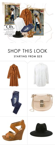 """""""Untitled #2"""" by neemiasseara on Polyvore featuring Brunello Cucinelli, Chloé, Seychelles, Forever 21, women's clothing, women's fashion, women, female, woman and misses"""