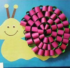 Snail Remesla Napad Pro Deti V Predskolnim Veku