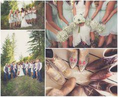 Country Wedding  www.lisawisephotography.com
