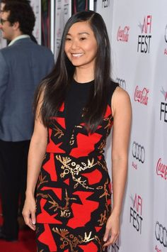 Hong Chau at event of Inherent Vice (2014)