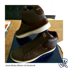 ROYAL ELASTICS Duke Hi Brown #sneakers #Hightop #nolaces casual shoes kicks footwear shoegame fashion