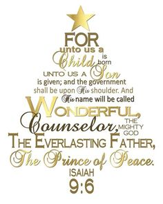 December 2014 VT Handouts: The Divine Mission of Jesus Christ: Prince of Peace