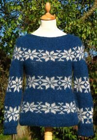well, here's the Sarah Lund Sweater, and it is from The Faroe Islands by Gudrun & Gudrun