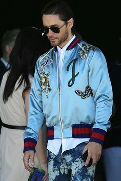 Jared Leto Gucci Milan Fashion Week 2017