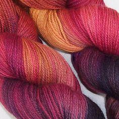 Happy Fuzzy Yarn :: yarns :: hand-dyed :: fingering weight :: Merino Tencel Fingering