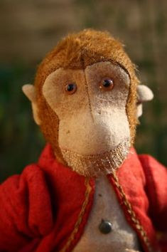 OLD VINTAGE ANTIQUE BING TUMBLING MONKEY (BEAR) c 1920