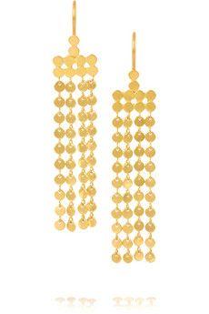 Marie-Hélène de Taillac 18-karat gold earrings | NET-A-PORTER