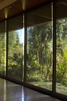 VIew on the garden of the Calouste Gulbenkian Museum