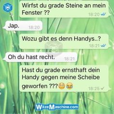 WhatsApp Fails deutsch – WhatsApp Chats – Handy werfen – WitzeMaschine Related posts: Text Message About Friend vs. Car - Funny Texts funny texts from parents boyfriends laughing ideasThis image. Funny Text Messages Fails, Funny Fails, Funny Texts, Funny Jokes, Humor Texts, Funny Chat, Top Funny, Funny Images, Funny Photos