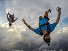 Photo of the Day! Free falling through the clouds. Photo by Guru Stunts. Have killer photos to share? Submit them here: http://g.gopro.com/submit