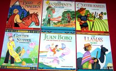 6 Social Studies Legends of the World Books Puerto Rico Serbia Vietnam Ages 4-8