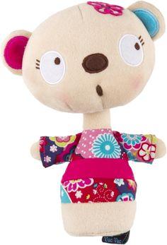 Sonajero tentetieso niña kimono kimono, para bebé - tuc tuc